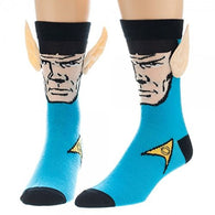 Star Trek Spock with Ears Crew Socks [ID: STK 889]