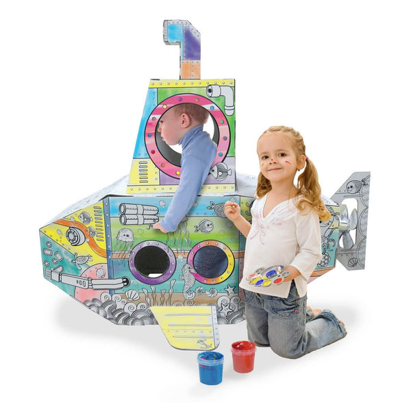 Cardboard Submarine Playhouse insights