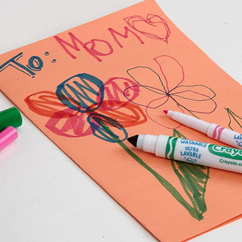 Construction paper Greeting Card