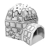 紙製冰屋 Cardboard Igloo Playhouse