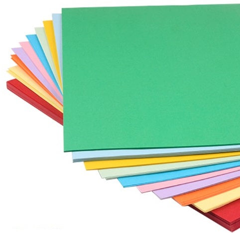 10色-A3-250g-咭紙-20張-10 Colors-250g-Cardboard-20 sheets
