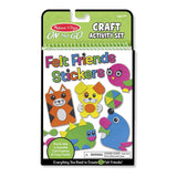 Melissa & Doug-DIY-手工套裝-On the Go Felt Friends Craft Activity Set