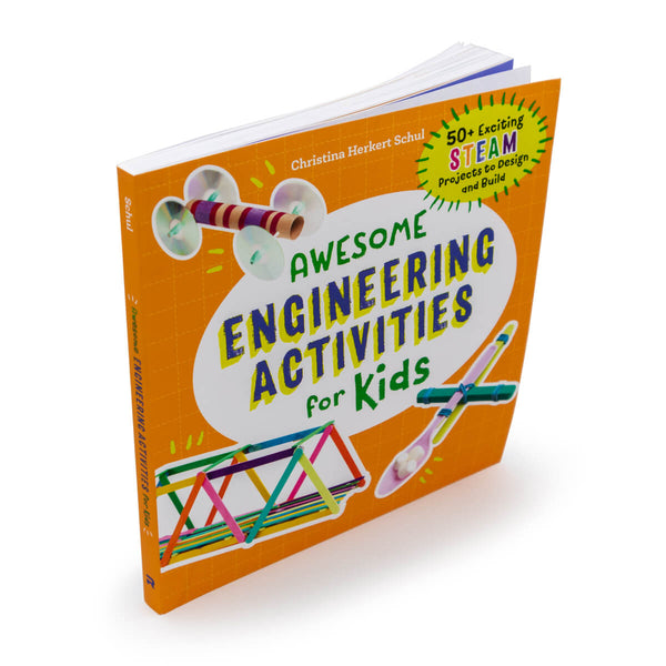Awesome Engineering Activities for Kids-50+ STEAM Projects to Design and Build
