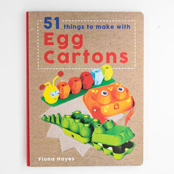DIY-手工書-51款雞蛋盒作品 51 things to make with Egg Cartons
