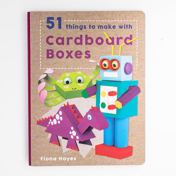 DIY-手工書-51款咭紙紙盒作品-51 things to make with Cardboard Boxes