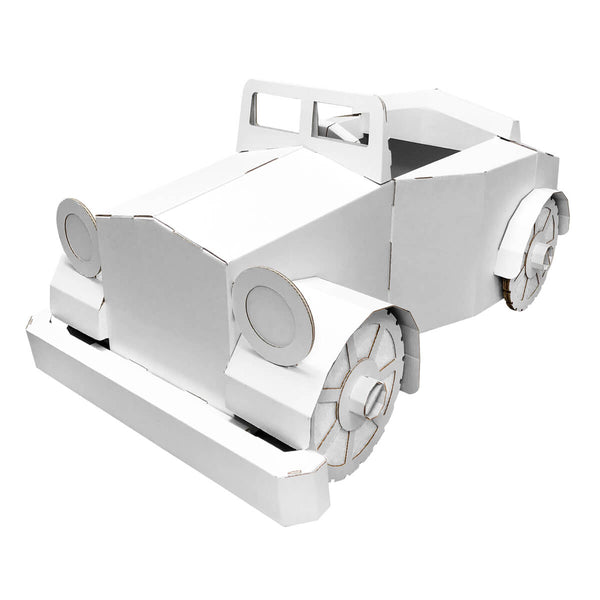 Car-Diesel Cardboard Pretend Play Car
