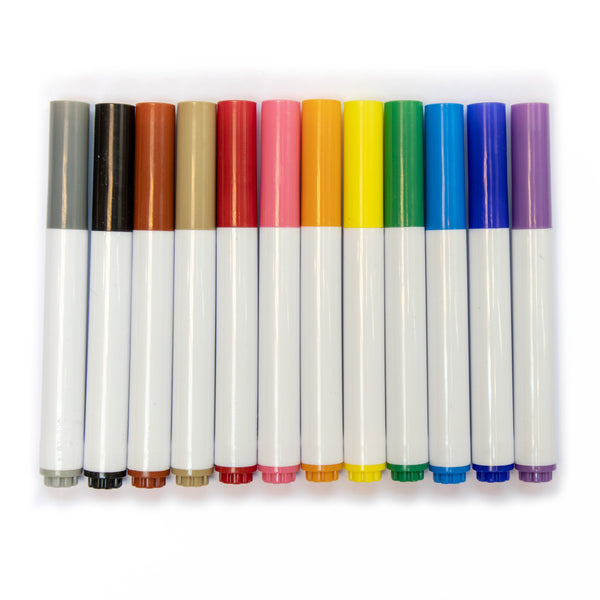 彩色水筆(可水洗) Color Marker Pen (Washable)