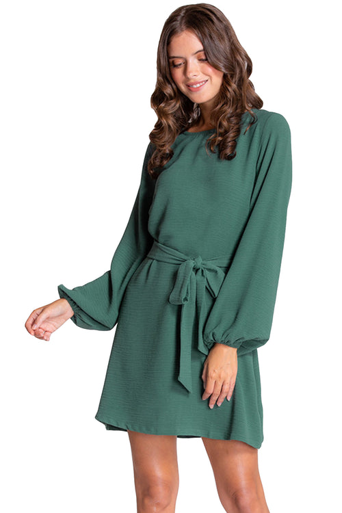 Alexia Shift Dress - Green