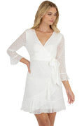 Aston Dress - White