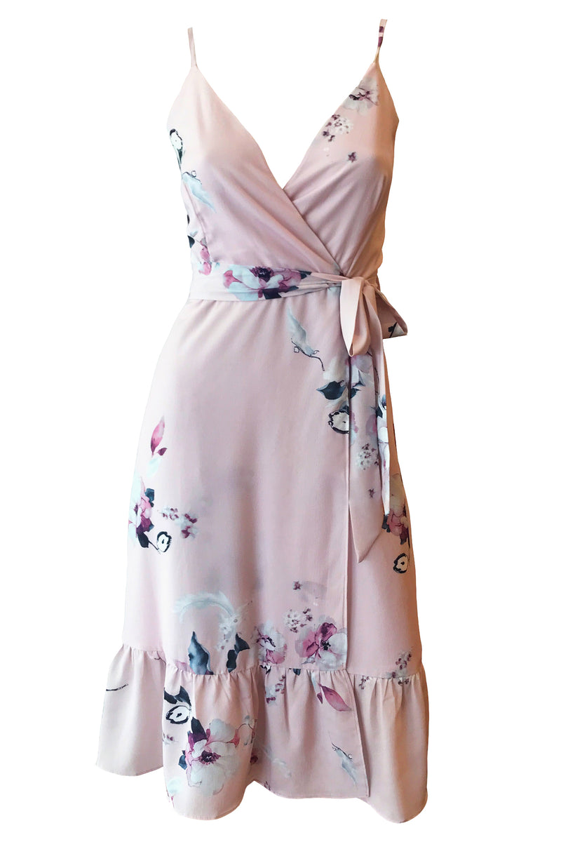 Aurora Wrap Dress