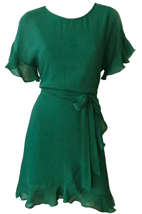 Avril Wrap Dress - Green