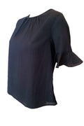 Bell Blouse - Navy