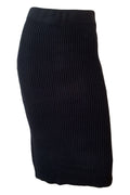 Claire Knit Skirt - Black