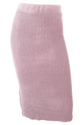 Claire Knit Skirt - Blush