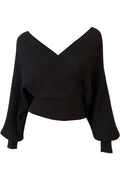 Claire Knit Top - Black