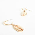 Cowri Drop Earrings