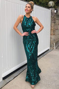 Duchess Gown - Emerald