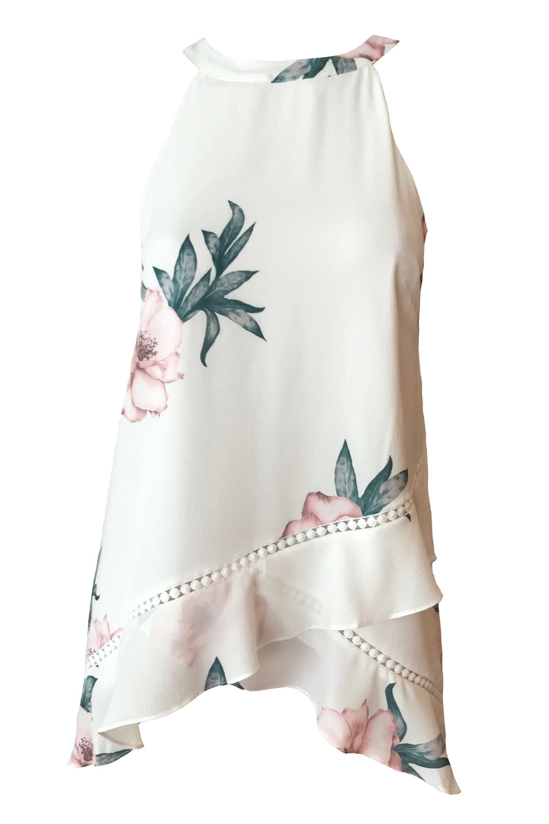 Genevieve Top - Floral