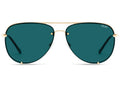 High Key Rimless - GLD/TEAL