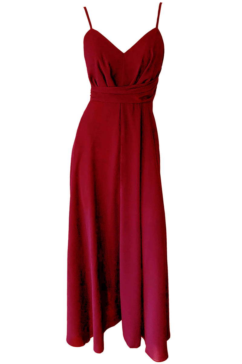 Jodi Maxi Dress - Wine