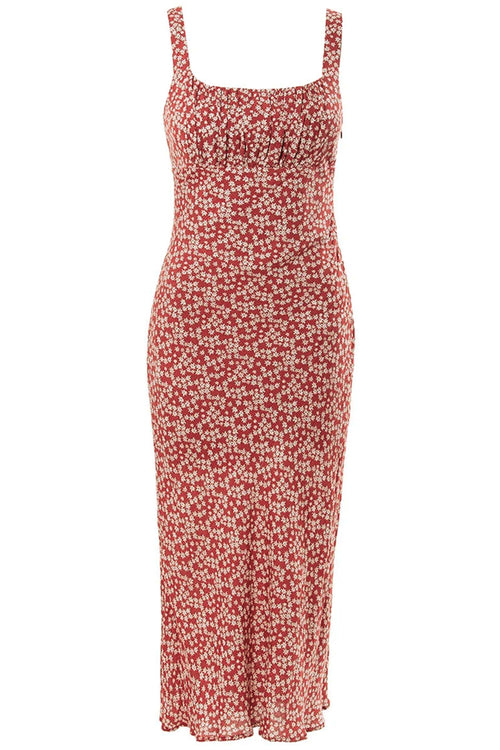 Katie Garden Dress - Red