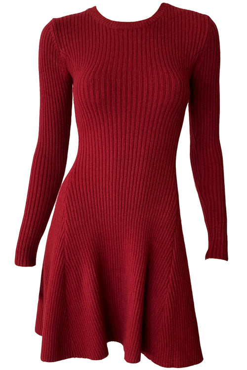 Kimbra Knit Dress - Wine
