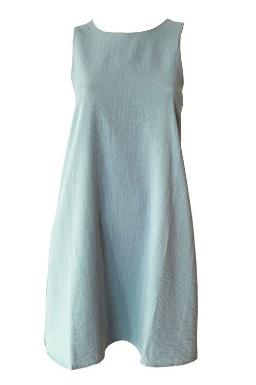 La Femme Shift Dress - Periwinkle