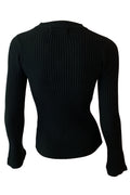 Lucia Knit Top - Black