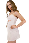 Macy Mini Dress - Beige