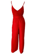 San Diego Jumpsuit - Red