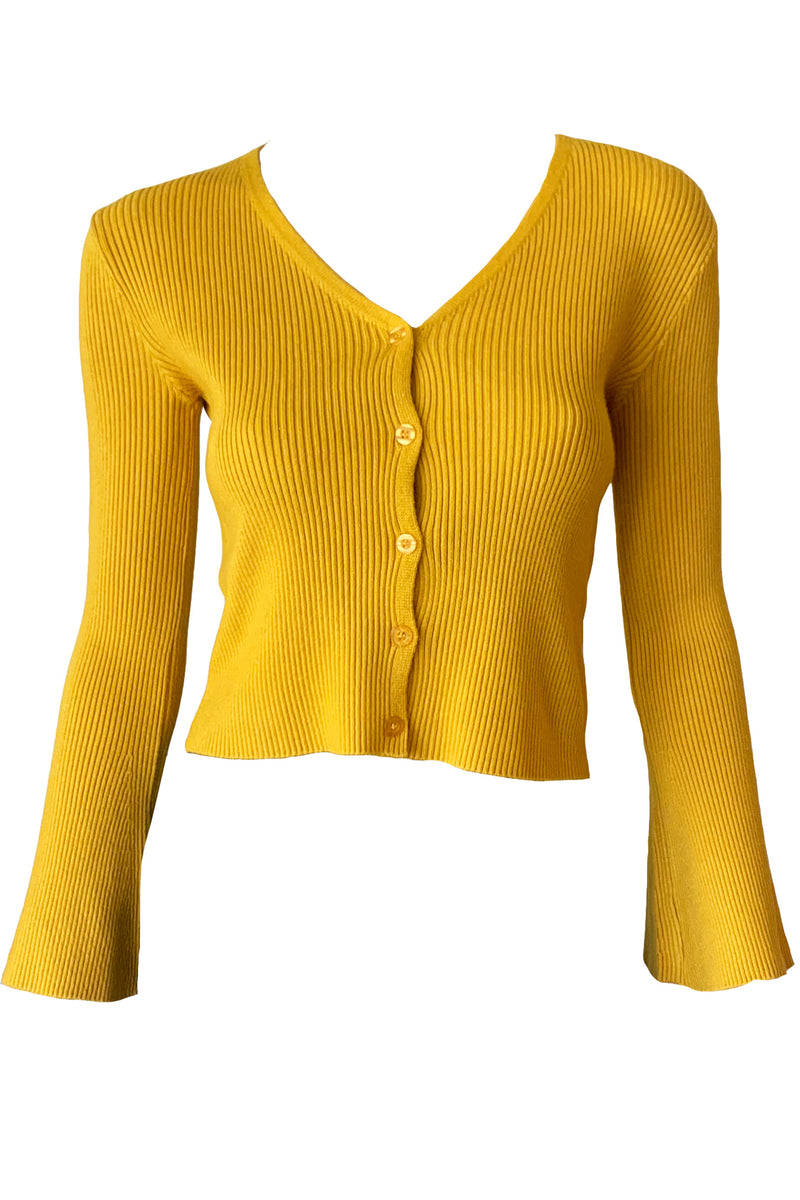 Sunshine Cropped Cardigan