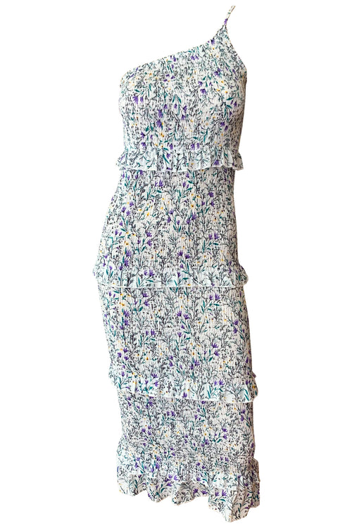 Tahlia Midi Dress - Floral Mix