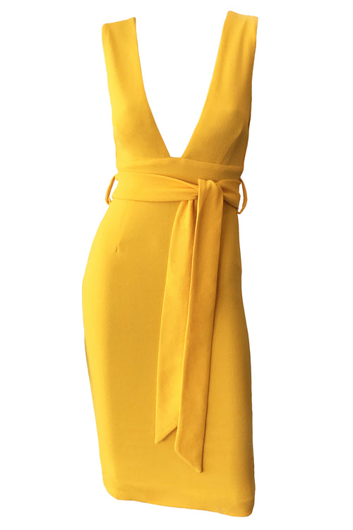 Tasha Dress - Yellow