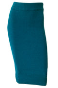 Taylor Knit Skirt - Teal