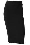 Taylor Knit Skirt - Black