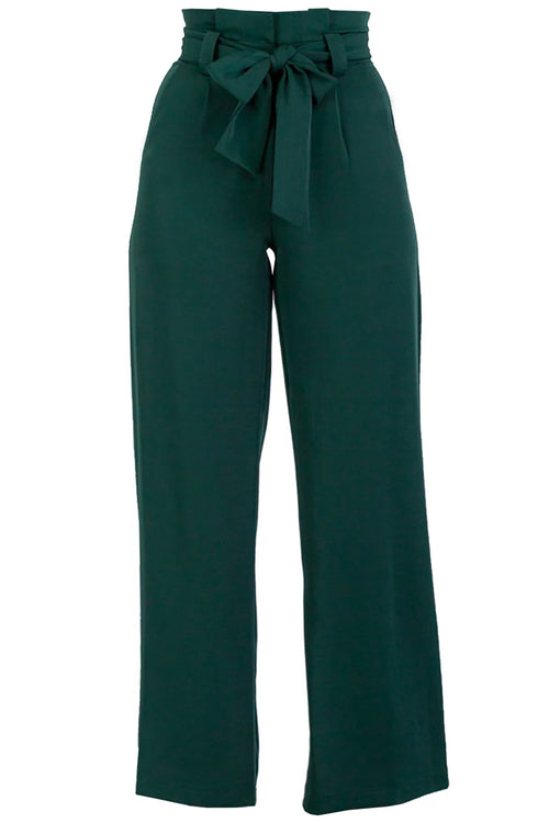 Valentine Pants - Emerald