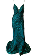 Vixen Gown - Emerald