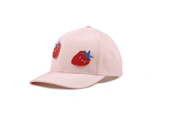 Pink Strawberry Baseball Cap
