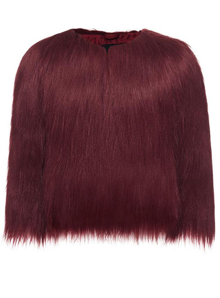 Burgundy Mini Me Jacket