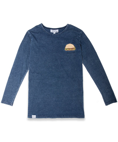 Burger Patch Longsleeve Tee (last one size 6 years)