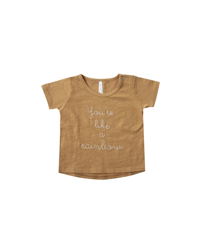 Basic SS Tee - Rainbow (last one size 0-3 months)