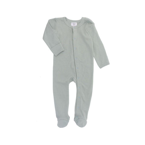 Frederik Footed Growsuit - Duck Egg Blue