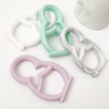 White Babushka Silicone Teether