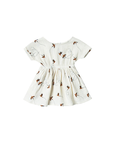 Kat T-Shirt Dress - Sparrow