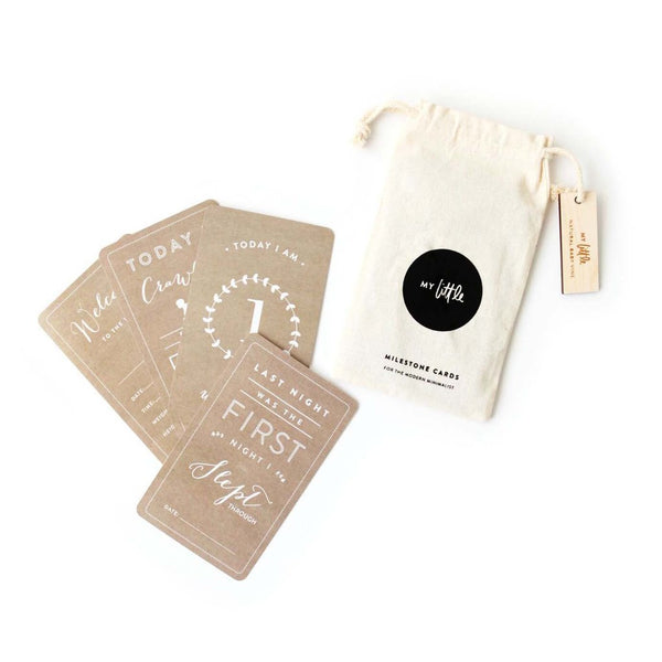 Natural Baby Vine Milestone Cards