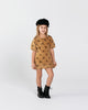 Terry Shirt Dress - Owls
