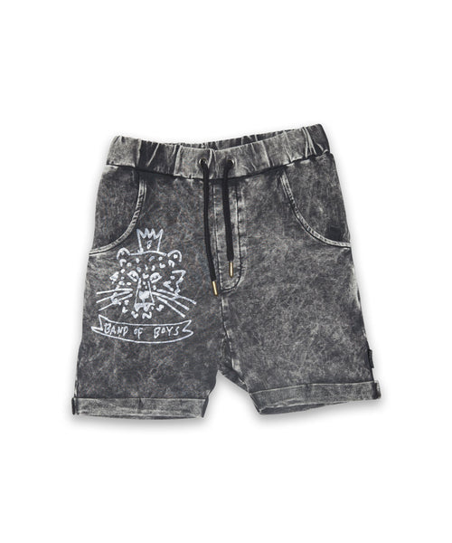 Crown Tiger Relaxed Shorts