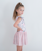 Pink Rose Luxe Double Frill Tutu Dress