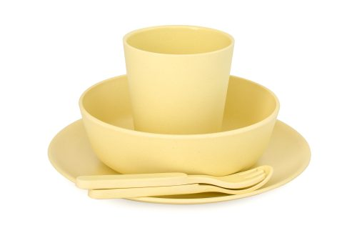 Bamboo Dinner Set - Sunshine