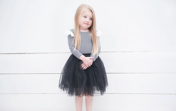 Black Luxe Tutu (last one size 6-7 years)